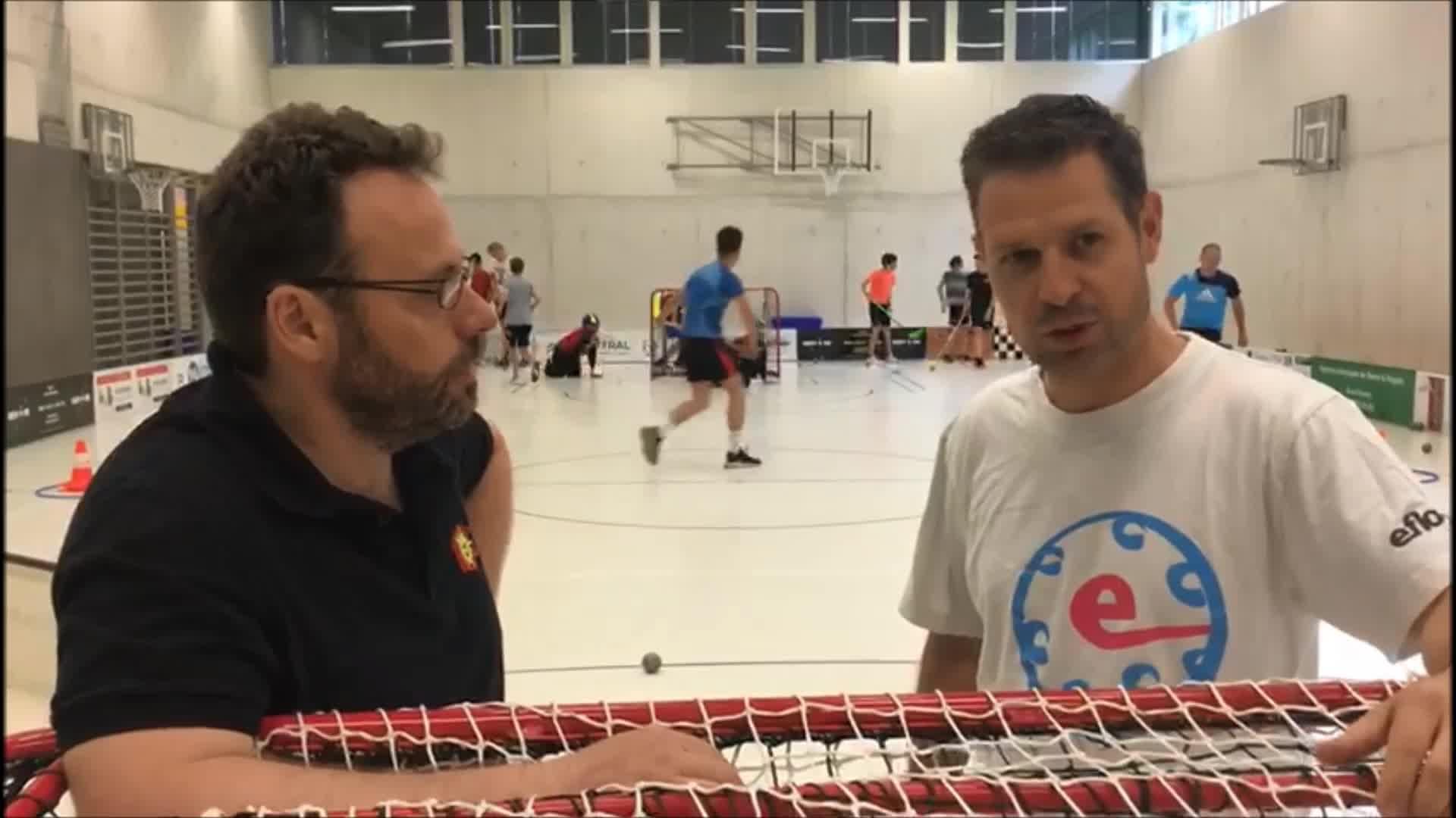 Présentation-interview par Christophe Fellay, responsable technique MJ, du module unihockey réalisé dans le cadre…