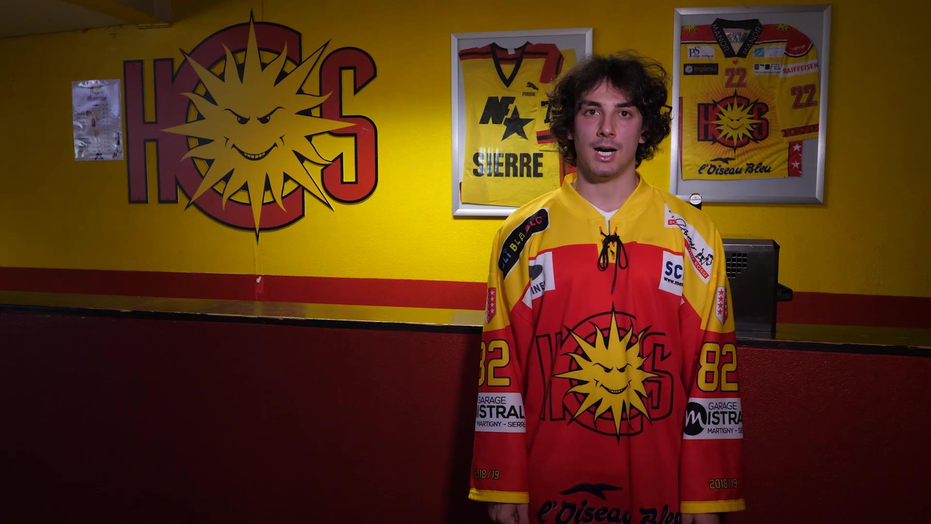Léo Agrusti tentera sa chance en Swiss League à Sierre la saison prochaine. Après…
